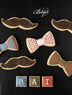 Bolachas Dia do Pai • Father´s Day Cookies | Doces do Bosque