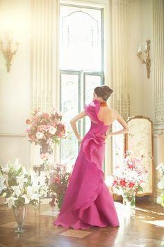 :: Like a rose- Neiman Marcus dress