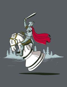 knight on knight?