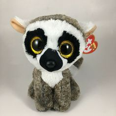 From the Ty Beanie Baby Boos collection. Ty Bears, Ty Beanie Boos, Lemur, Soft Sculpture, German Shepherd Dogs, Stuffed Toys, Stuffed Animals, Pet Toys, Vintage Toys