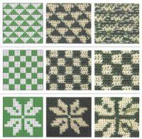 "Gallery.ru / Alleta - Álbum ""Patrones crochet párr jacquard"""