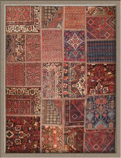 Rug Firm Tabriz Patchwork X Persian A Beautiful Work Of Art Made Several Pieces Diffe Types Rugs Attached To Each