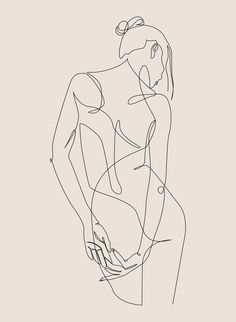 ligature - one line art - pastel Art Print by dronathan Minimalist Drawing, Minimalist Art, Art Sketches, Art Drawings, Line Drawing Art, Back Drawing, Outline Art, Abstract Line Art, Pastel Art