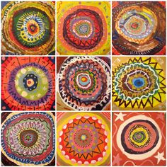PipoDoll: Mandalas made by children