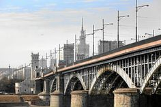 KultWarszawa: Oddanie do użytku mostu Mikołaja II (obecnie Ponia...