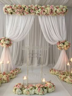 23 Ideas for diy wedding reception ideas ceremony backdrop Wedding Reception Backdrop, Wedding Stage, Ceremony Backdrop, Ceremony Decorations, Wedding Centerpieces, Wedding Backdrops, Wedding Sets, Reception Ideas, Diy Backdrop