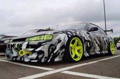 Nissan Silvia S14 Kouki Snow Camo