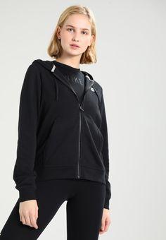 d048cc4bf7164 Nike Sportswear W NSW FZ FLC - veste en sweat zippée - black - ZALANDO.