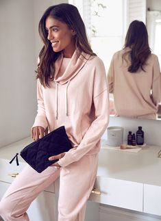 Get ready to embrace the Scandinavian art of hygge with our indulgent collection of loungewear, athleisure, nightwear and accessories for you and your home. Red Rain Boots, Her Smile, Hygge, Lounge Wear, Hooded Jacket, Joggers, Cashmere, Bell Sleeve Top, Blush