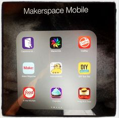 The Library Voice: I Created A Little Makerspace To-Go.It Even Includes A Makerspace Mobile Too! Middle School Libraries, Elementary School Library, Elementary Schools, Library Activities, Stem Activities, Library Lessons, Library Ideas, Maker Labs, Library Center