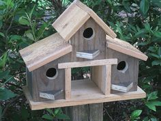 Amazon.com: Rustic Barn Birdhouse, Primitive Barn Birdhouse, Barn Birdhouse, Barnwood Birdhouse, Reclaimed Wood Birdhouse,: Handmade