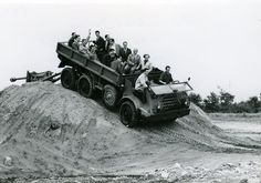 More than 85 years of DAF history - DAF Corporate Army Vehicles, Eindhoven, Good Old, Van, Trucks, History, Offroad, Nostalgia, Off Road