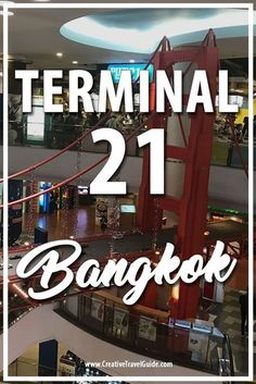 During our visit to Bangkok, we decided to check out the cities most popular mall - Terminal 21 Bangkok. We are definitely glad we visited and this is a quick overview post (plus we have a video - watch it below).