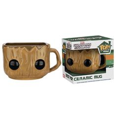 Guardians of the Galaxy Groot Ceramic Mug Pop Home collection by Funko