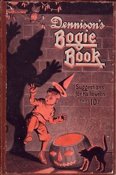 PRIMITIVE VINTAGE VICTORIAN FAUX FAKE THE WITCH OF JUNIPER WALK HALLOWEEN BOOK