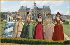 Mod The Sims - More Rococo Gowns