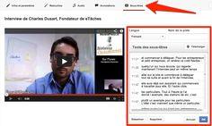 Conseils pour le référencement vidéo : les sous-titres dans une vidéo