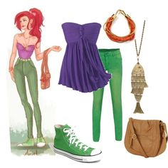 Great Halloween costume idea: Modern Day Princess 2....Ariel.