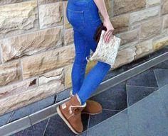💃💃 Dress your classic uggs a little bit different. Classic Ugg Boots, Ugg Classic, Clogs, Dresses, Fashion, Clog Sandals, Vestidos, Moda, Fashion Styles