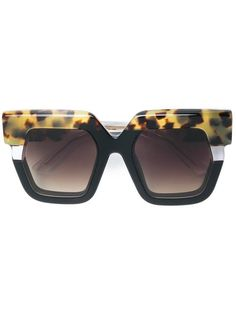 726b7af4d10b Jacques Marie Mage Lipton Oversize Sunglasses - Farfetch