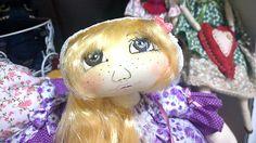 Rostinho da boneca russa, da Monica Cilene Art's