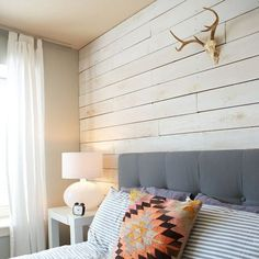 If you are wanting to clad an entire wall or more with planks and then paint this, you could consider using 3mm MDF or hardboard / Masonite planks.