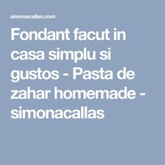 Fondant, Pasta, Homemade, Food, Cakes, Quotes, Quotations, Home Made, Cake Makers