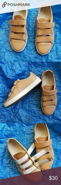 Rag & Bone velcro shoes Lace-free velcro adjustmemt for easy to put on and take off. Beautiful shoes. Normal wear,  no damage. Some discoloration on tongue, bought it that way. I do not trade. rag & bone Shoes
