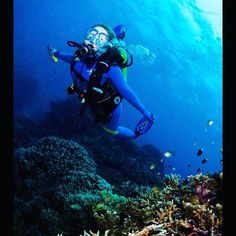 Diving at the Great Barrier Reef #gbr #greatbarrierreef #australia #abcdiving #travelling #bucketlistcheck by tp0510 http://ift.tt/1UokkV2