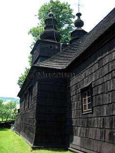 FričkaMuzeum.SK - Drevené kostolíky na Slovensku