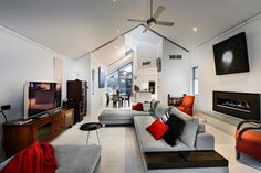 Best Cathedral and Vaulted Ceiling Designs in Living Rooms Design Ideas