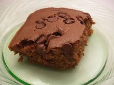 Tasty Tuesday - Chocolate Chip Zucchini Cake - Housewife Eclectic
