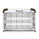 Aspectek Powerful Electronic Indoor Insect Killer, Bug Zapper, Fly Zapper, Mosquito Killer-Indoor Use Including Free 2 PACK Replacement Bulbs Mosquito Zapper, Mosquito Trap, Mosquito Killer, Mosquito Control, Natural Mosquito Repellent Plants, Barbecue, Electronic Pest Control, Electric Bug, Barbacoa