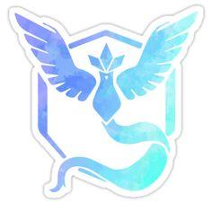 """Blue Team"" Stickers by FrauleinMezzo | Redbubble"