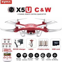 72.90$  Watch now - SYMA X5UW & X5UC FPV RC Drone With 720P WiFi 2MP HD Camera 2.4G 4CH 6Axis Quadcopter Helicopter Height Hold One Key Land Dron  #buyininternet