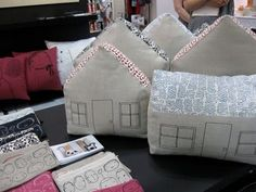 house pillows!