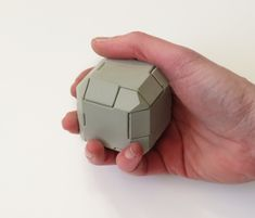 "nice concrete puzzle: ""Beveled Box""   from concretegifts.com"