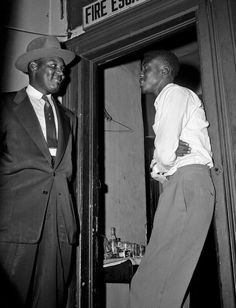 Willie Louis in door way dies at 76  witness at Emmett Till trial brave soul only 18 at the time of trial. That's right the murders were acquitted sad.