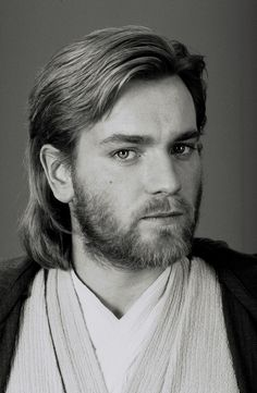 Ewan McGregor as Obi Wan Kenobi in Star Wars: Attack of the Clones. Him and his hair were pretty much the only things I liked about that movie.