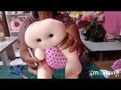 BONECA DE PANO BEBÊ , FAÇA E VENDA MOLDE GRÁTIS ❤️ - YouTube