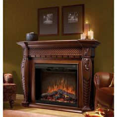 Adam Falmouth Electric Fireplace Suite with Chrome Fire | Electric ...