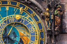 Uhr am Altstädter Ring _ Prag_117378067                              …
