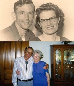 After 72 years of marriage, Norma and Gordon Yeager died in the hospital within one hour of each other. They died holding hands.