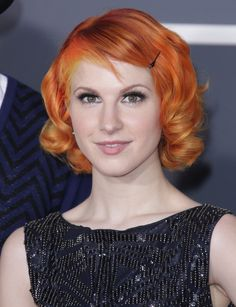 Haley williams short, sweet and sassy hairstyle