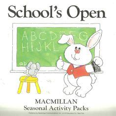 School's Open MacMillan Seasonal Activity Pack Large Motor Skills Safety Cooking #MacMillan #WorkSheets