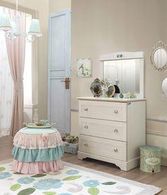 Superbe Cilek Flora Sideboard II Kinderzimmer Möbel, Zuhause, Schlafzimmer, Coole  Räume, Luxus