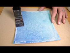 Video: Kroma Crackle - Basic Technique - #Polymer #Clay #Tutorials