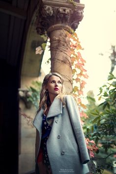 Olga - null Coat, Model, Jackets, Photography, Beauty, Fashion, Down Jackets, Moda, Sewing Coat