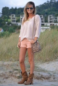 Outfit idea for Luke Bryan concert... with cowgirl boots though!