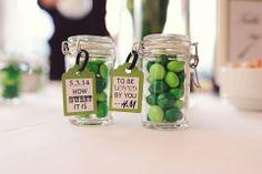 cute idea for M&M wedding favors   Kreative Angle Photography